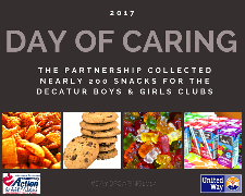 Day of Caring Graphic for Boys and Girls Clubs
